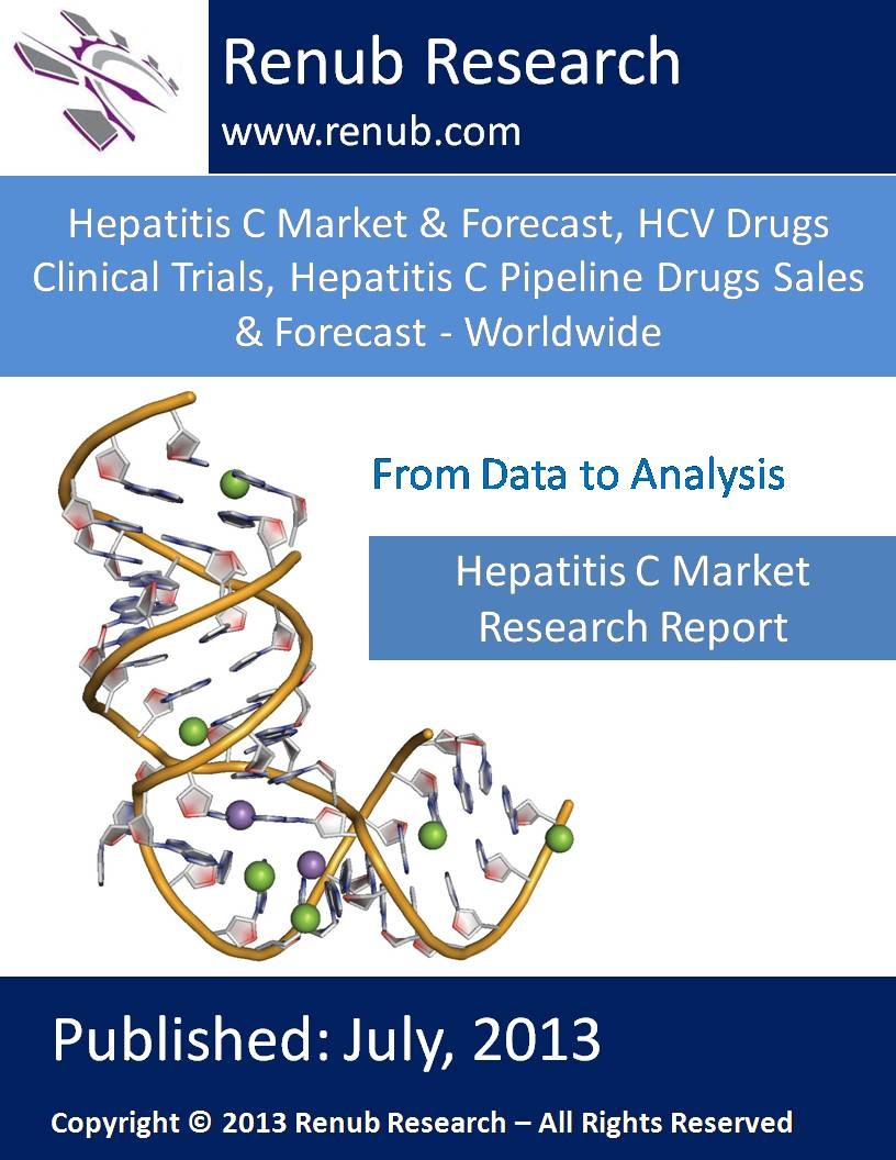 Hepatitis C Market & Forecast, HCV Drugs Clinical Trials, Hepatitis C Pipeline Drugs Sales & Forecast - Worldwide
