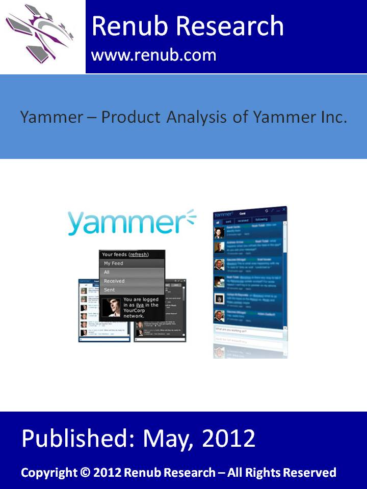 Yammer - Product Analysis of Yammer Inc.