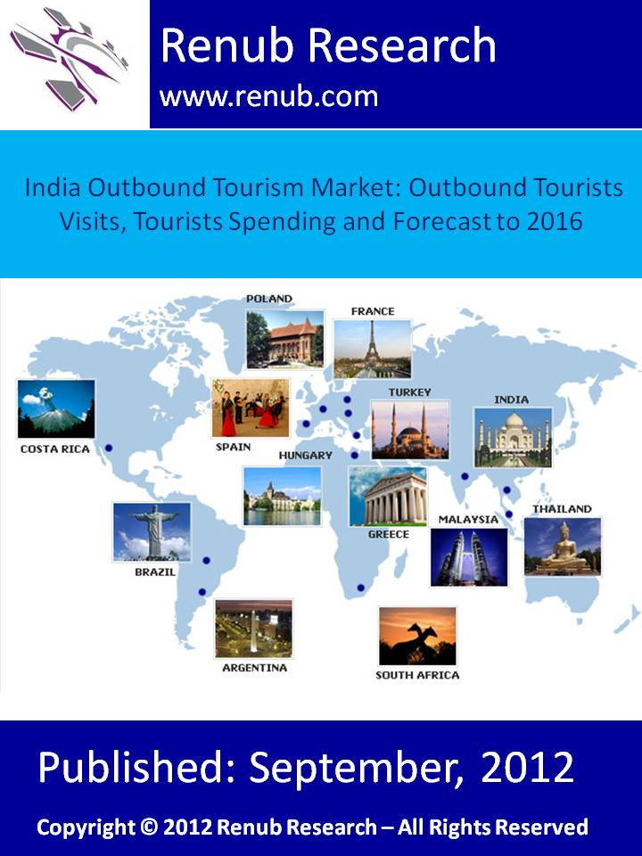 India Outbound Tourism Market: Outbound Tourists Visits, Tourists Spending and Forecast to 2016