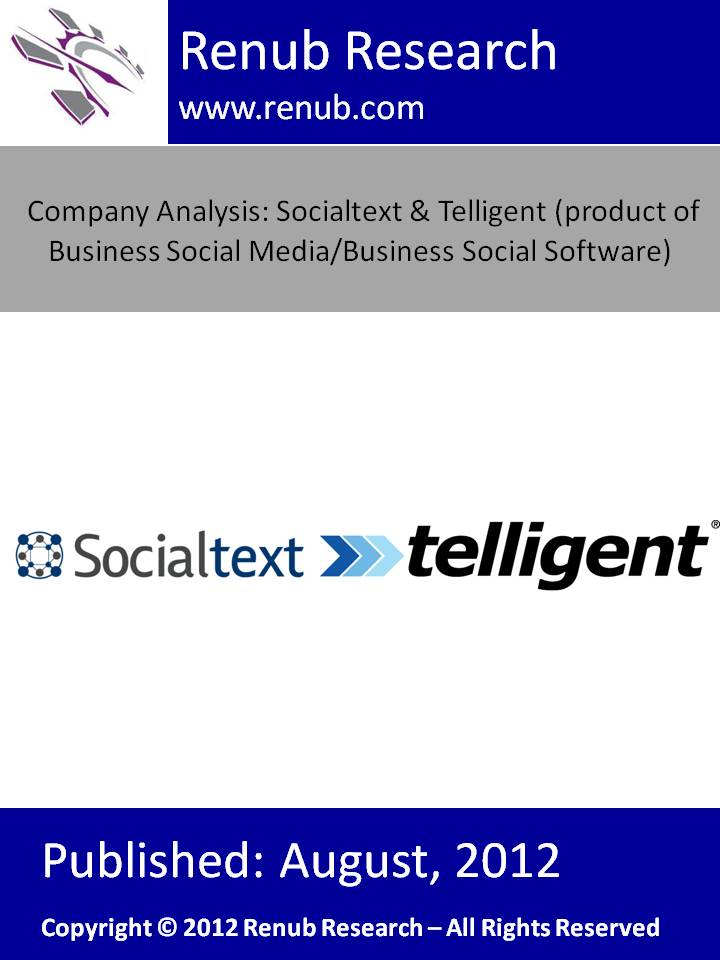 Company Analysis: Socialtext & Telligent (product of Business Social Media/ Business Social Software)