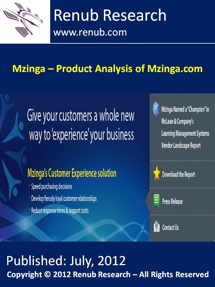 Mzinga - Product Analysis of Mzinga.com