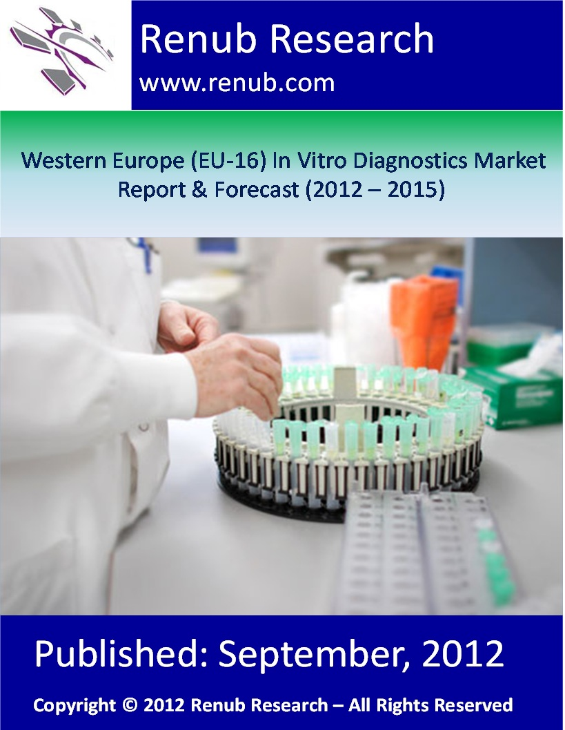 Western Europe (EU-16) In Vitro Diagnostics Market Report & Forecast (2012 - 2015)
