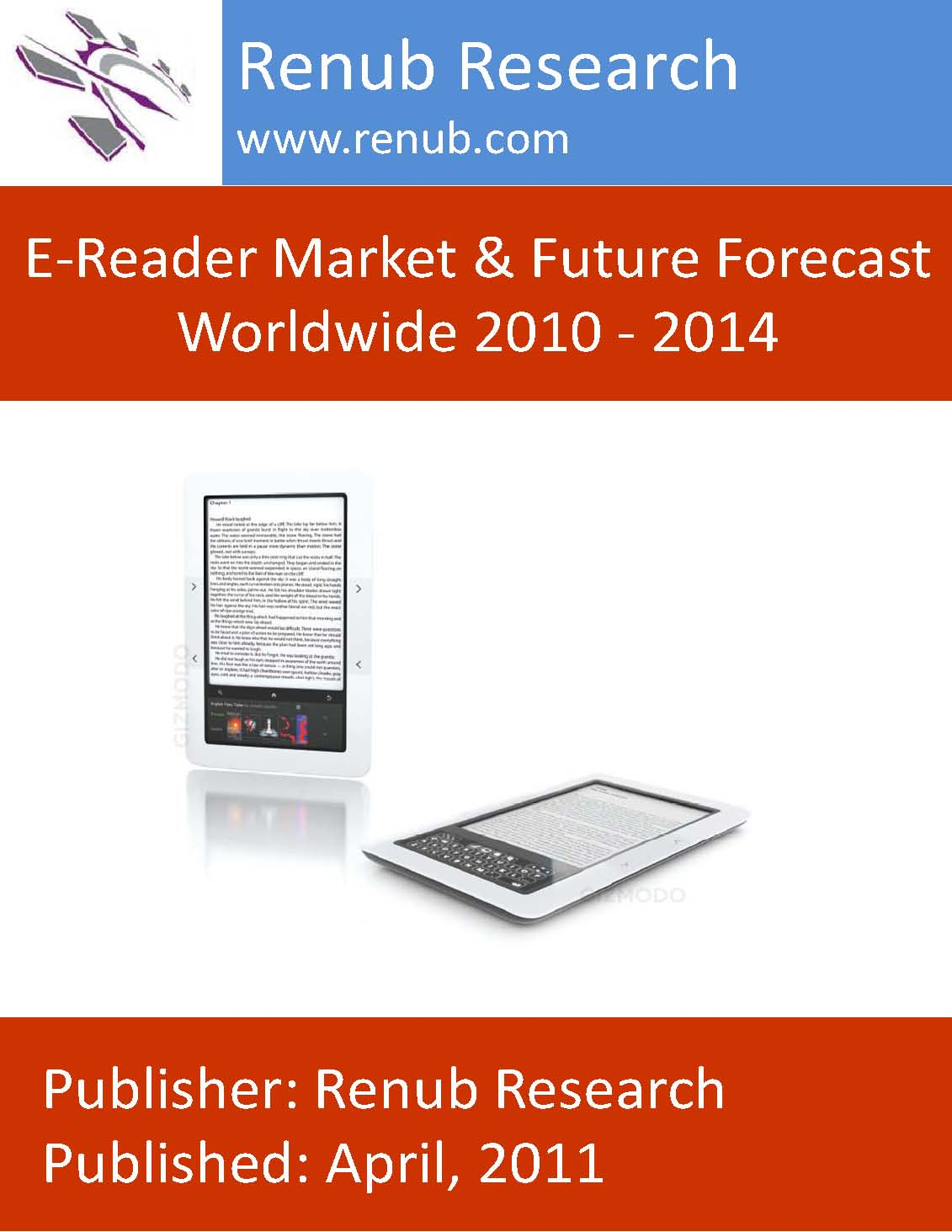 E-Reader Market & Future Forecast Worldwide 2010 - 2014