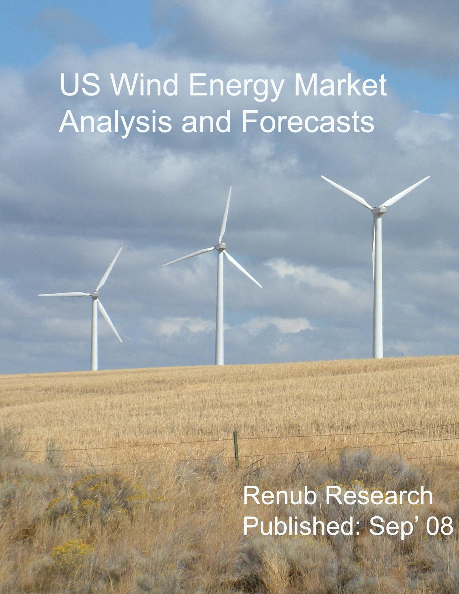 US Wind Energy Market Analysis and Forecasts