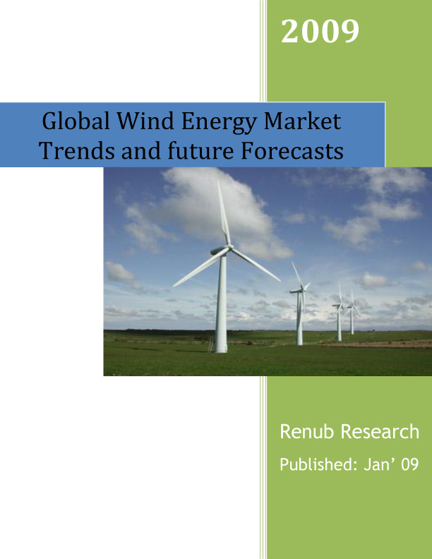 Global Wind Energy Market Trends and Future Forecasts