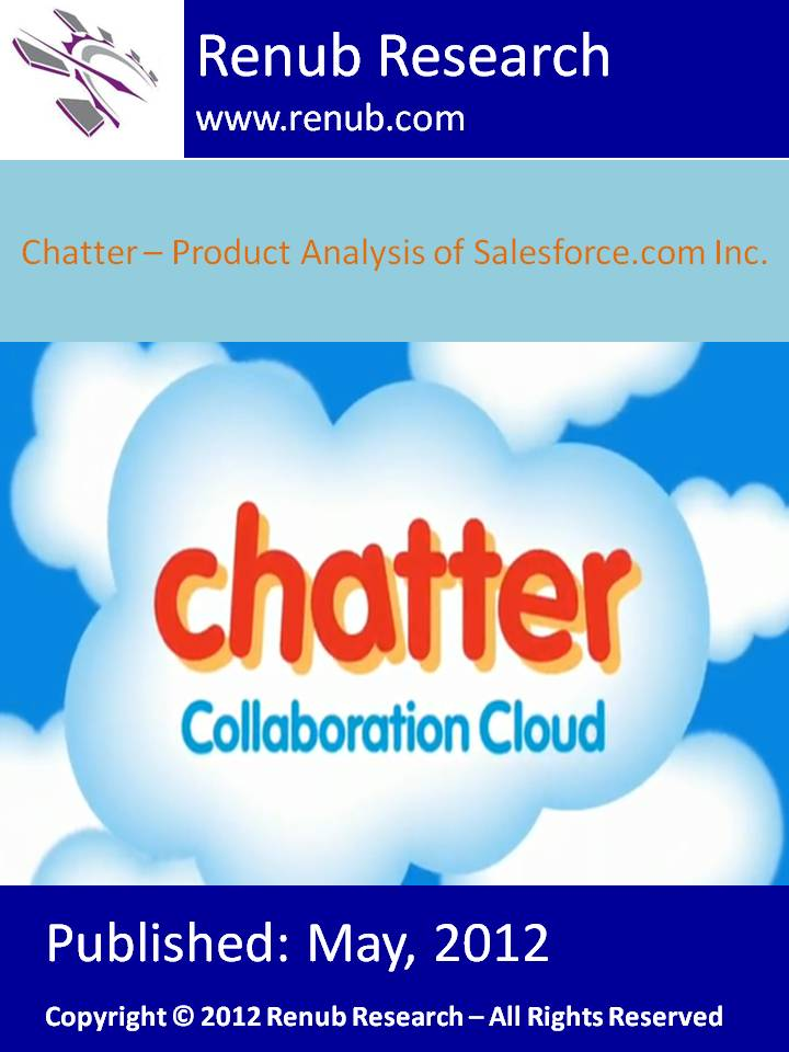 Chatter - Product Analysis of Salesforce.com Inc.
