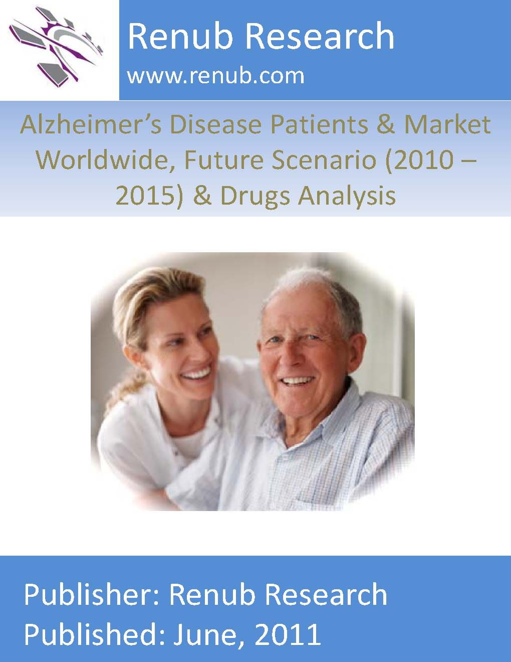 Alzheimer's Disease Patients & Market Worldwide, Future Scenario (2010 - 2015) & Drugs Analysis