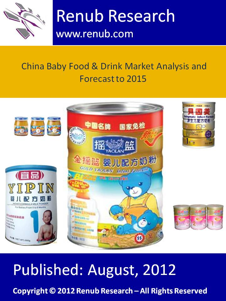 China Baby Food & Drink Market Analysis and Forecast to 2015