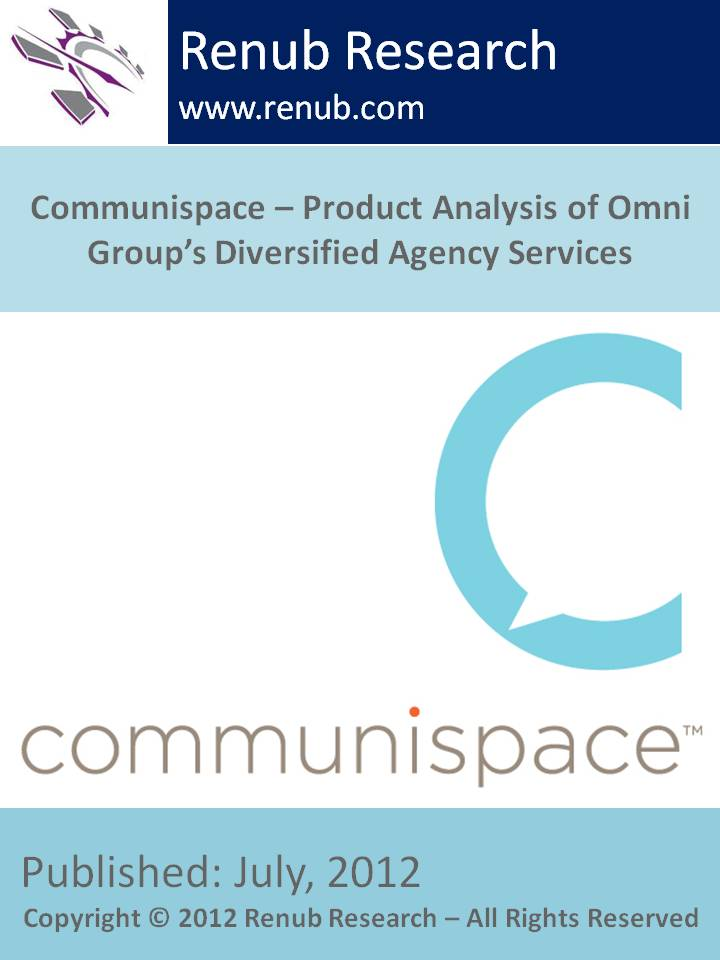 Communispace - Product Analysis of Omni Group's Diversified Agency Services