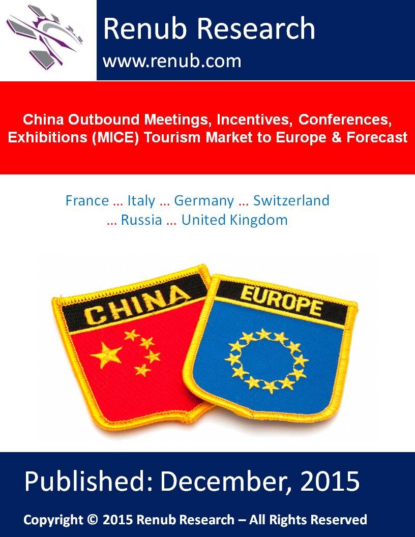 China Outbound Meetings, Incentives, Conferences, Exhibitions (MICE) Tourism Market to Europe & Forecast