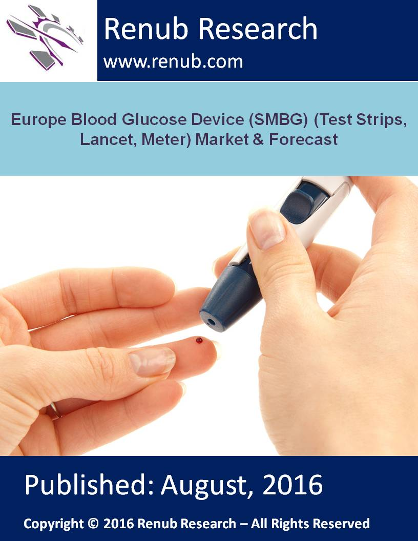 Europe Blood Glucose Device (SMBG) (Test Strips, Lancet, Meter) Market & Forecast