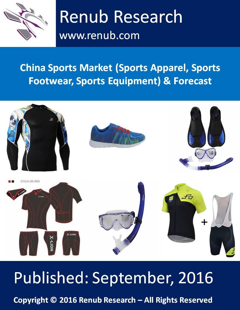 China Sports Market (Sports Apparel, Sports Footwear, Sports Equipment) & Forecast