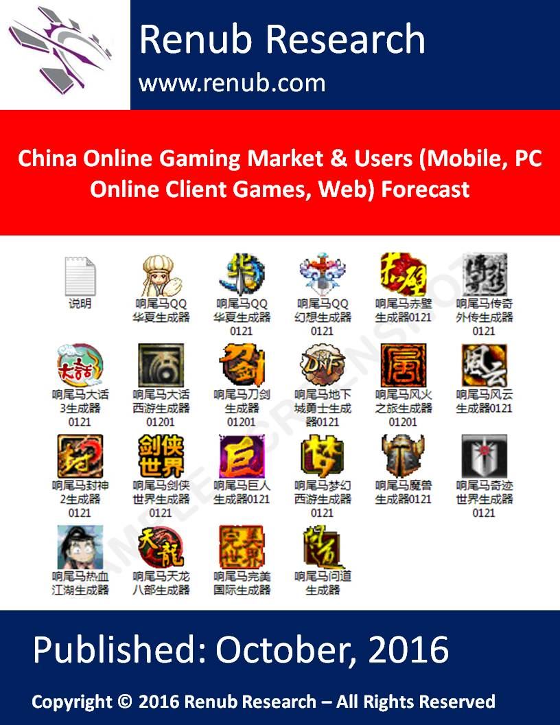 Dissertation On Online Marketing  China Online Gaming Market Users Forecast Dissertation On Online Marketing