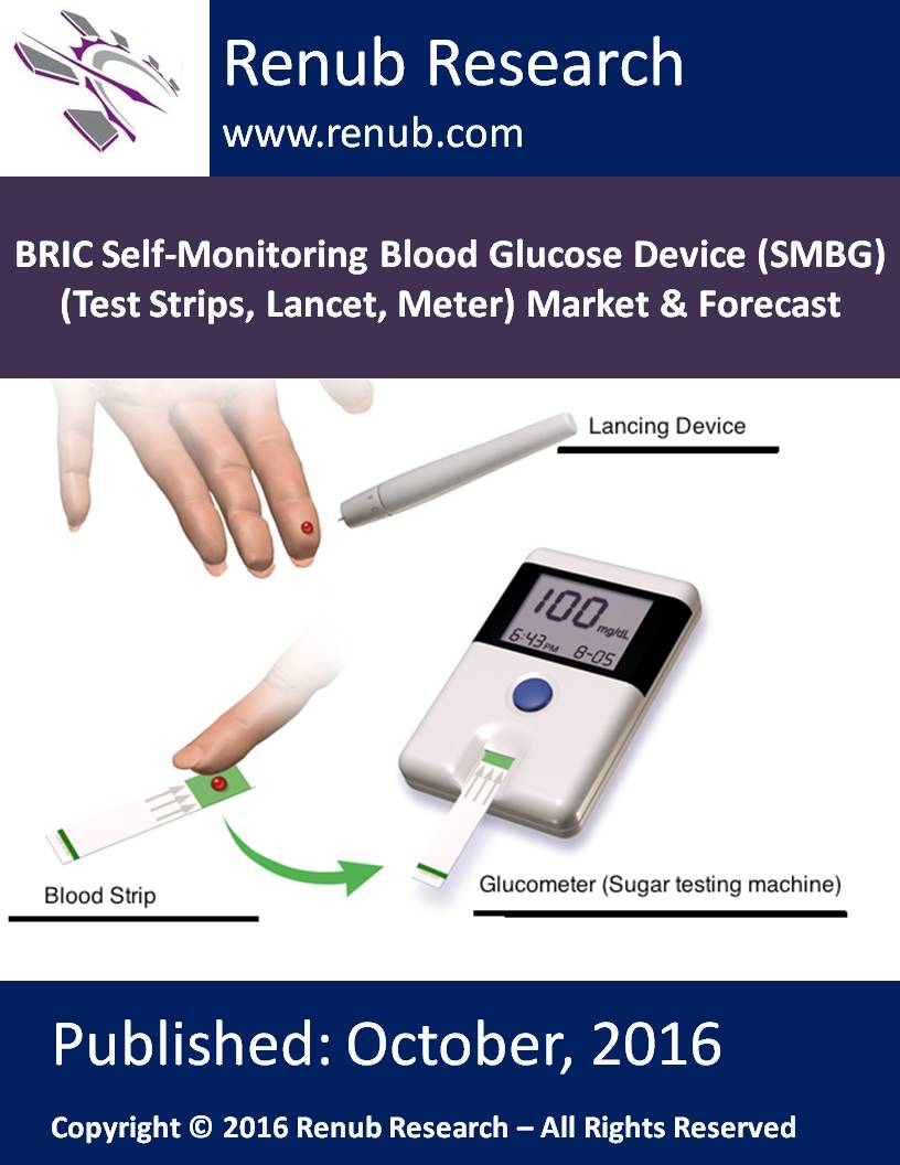 BRIC Self-Monitoring Blood Glucose Device (SMBG) (Test Strips, Lancet, Meter) Market & Forecast