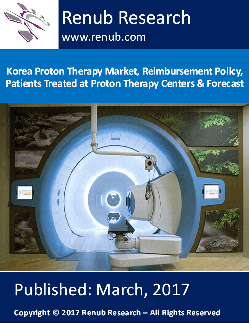 Korea Proton Therapy Market, Reimbursement Policy, Patients Treated at Proton Therapy Centers & Forecast