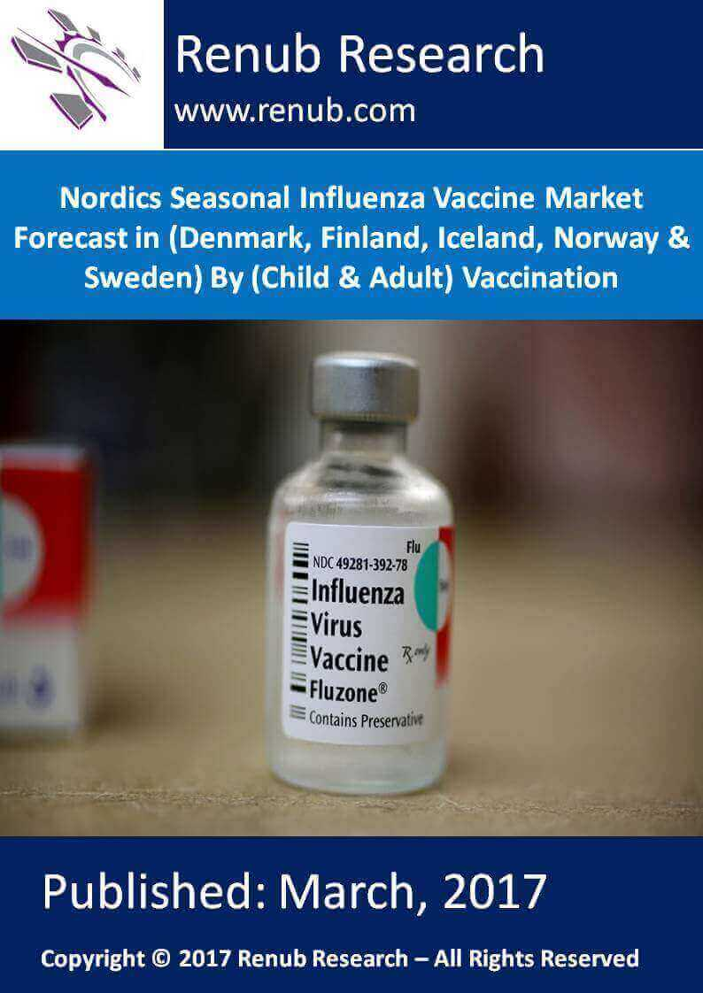 Nordics Seasonal Influenza Vaccine Market Forecast in (Denmark, Finland, Iceland, Norway & Sweden) By (Child & Adult) Vaccination