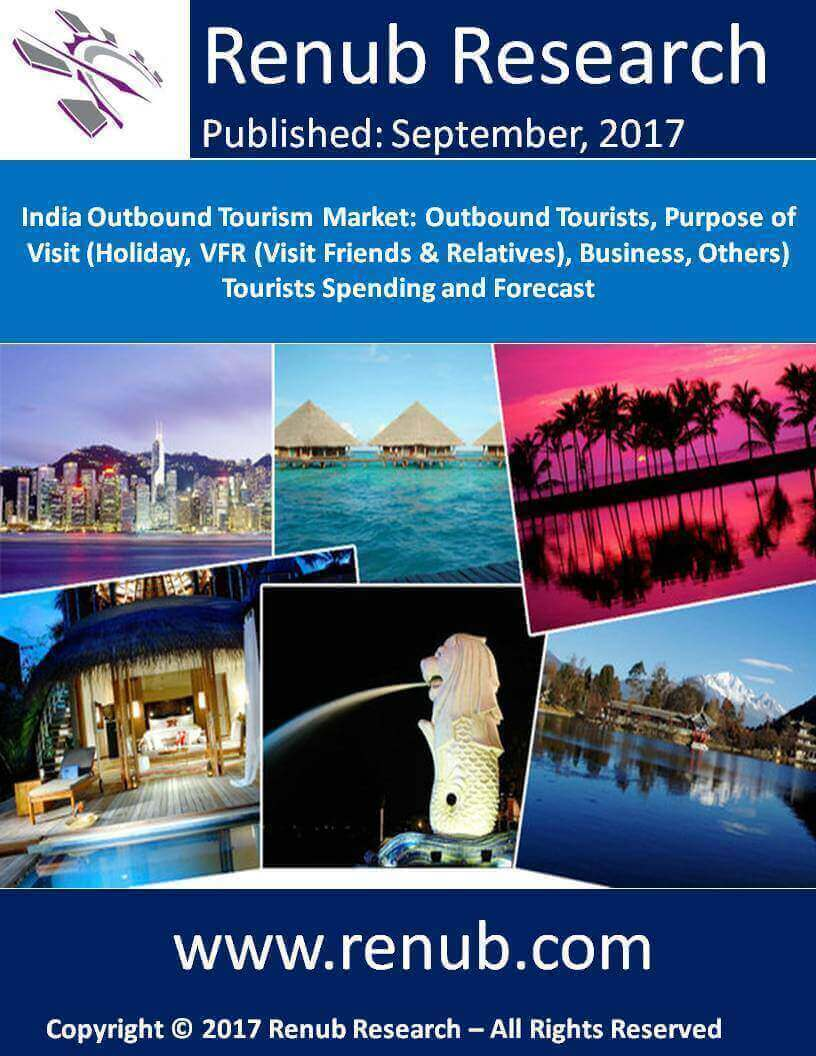 India Outbound Tourism Market: Outbound Tourists, Purpose of Visit (Holiday, VFR (Visit Friends & Relatives), Business, Others) Tourists Spending and Forecast - 3rd Edition